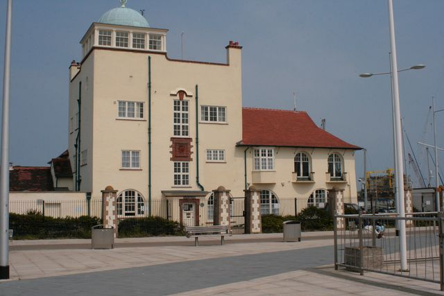 De Royal Yaught Club van Lowestoft