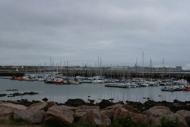In de marina van Peterhead